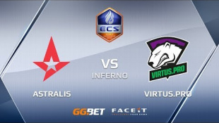 Astralis vs VirtusPro ecs season 6 europe