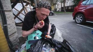 Как найти еды в московских мусорках? Фриганизм в России.