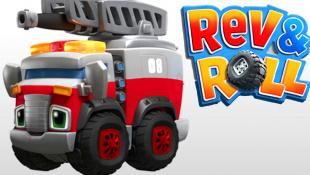 Рев и заводная команда - новые серии | Мультики про машинки, тачки