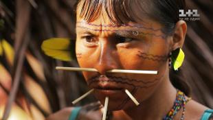 Знакомство с племенем Яномами. Бразилия. Мир наизнанку 10 сезон 26 выпуск
