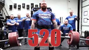 БУДУ ТЯНУТЬ 520 кг! / Хафтор идет до конца