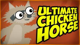 БРЕЙН ПРОТИВ ДАШИ В НОВЫХ БЕЗУМНЫХ УРОВНЯХ! ДАВНО ТАК НЕ СМЕЯЛИСЬ! ● Ultimate Chicken Horse