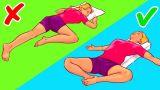 6 Поз, Которые Помогут вам Уснуть за 10 Секунд