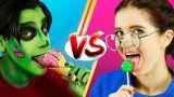 Вкусняшки на Хэллоуин против обычной еды! Челлендж – 8 идей