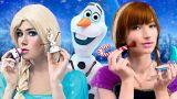 Косметика Эльзы против косметики Анны – 9 идей / Холодное сердце