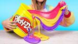 Огромная радужная канцелярия антистресс для Единорога – 7 идей / Радужные игрушки антистресс