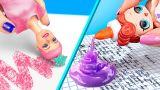 12 лайфхаков с куклами Барби и ЛОЛ / Как пронести кукол в школу