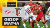 Спартак - Брага - 1:2. Обзор матча раунда плей-офф Лиги Европы